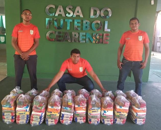 FCF Social realiza doação de cestas básicas foto FCF Divulgação