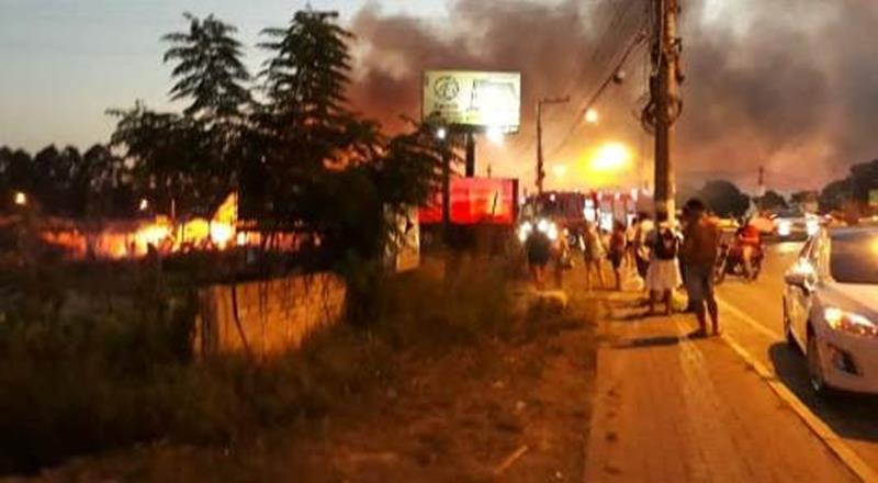 Moradores se assustam com explosões e relatam rachaduras de casas em Juazeiro do Norte Foto Redes sociais