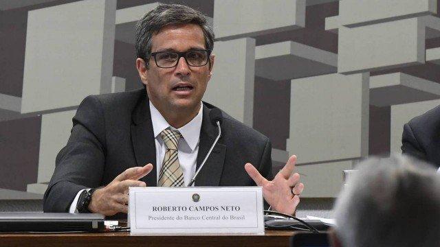 O presidente do Banco Central, Roberto Campos Neto Foto Marcos Oliveira Agência Senado