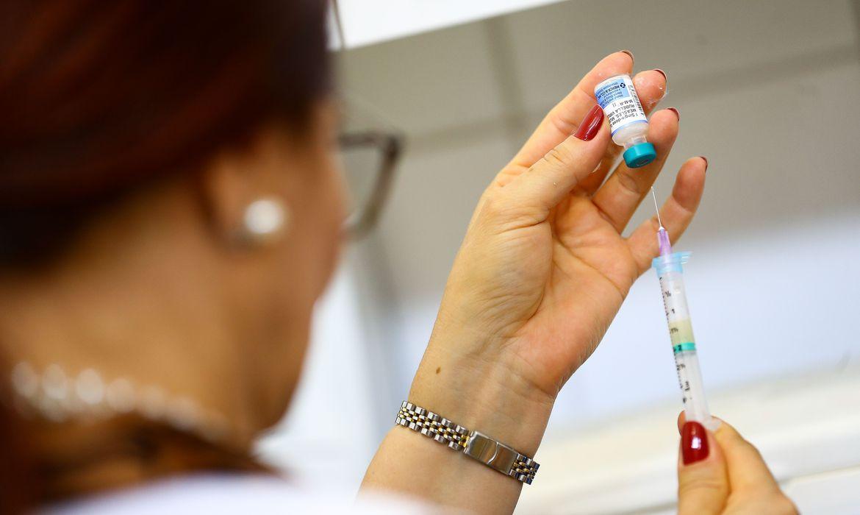 Vacinação contra sarampo_301119img_29253825© Marcelo Camargo-Agência Brasil