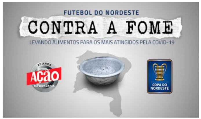 Futebol do Nordeste contra a fome