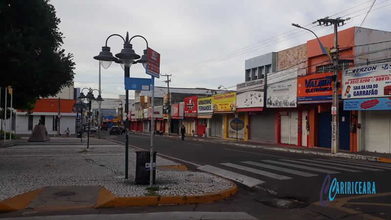 Rua São Pedro, Juazeiro do Norte- Foto Jota Lopes_Agência Caririceara.com - 14.Abril_2020 (1)