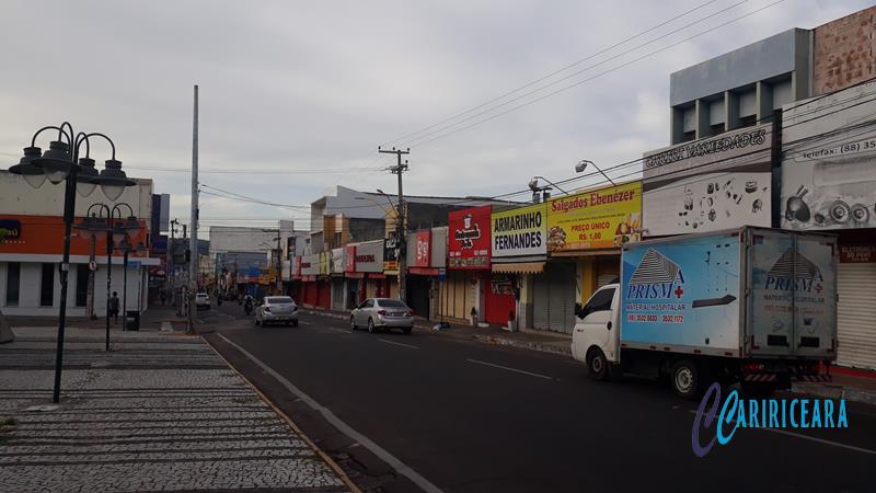 Rua São Pedro, Juazeiro do Norte- Foto Jota Lopes_Agência Caririceara.com - 14.Abril_2020 (2)
