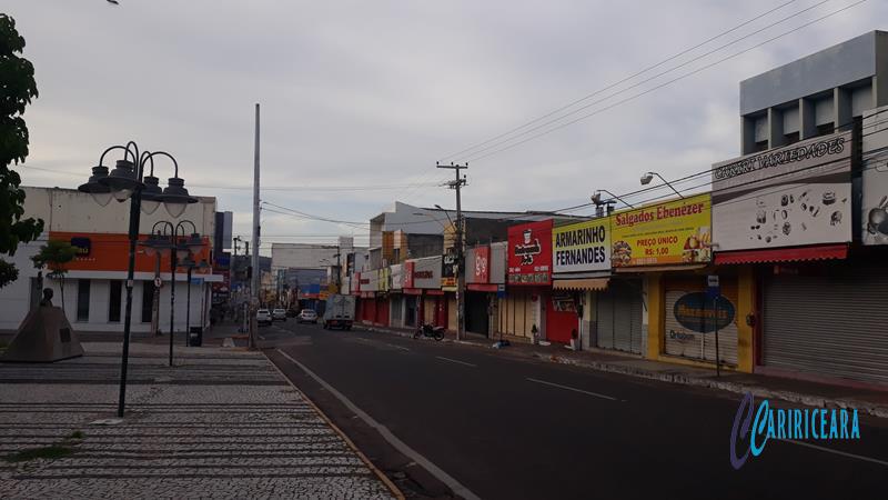 Rua São Pedro, Juazeiro do Norte- Foto Jota Lopes_Agência Caririceara.com - 14.Abril_2020 (3)