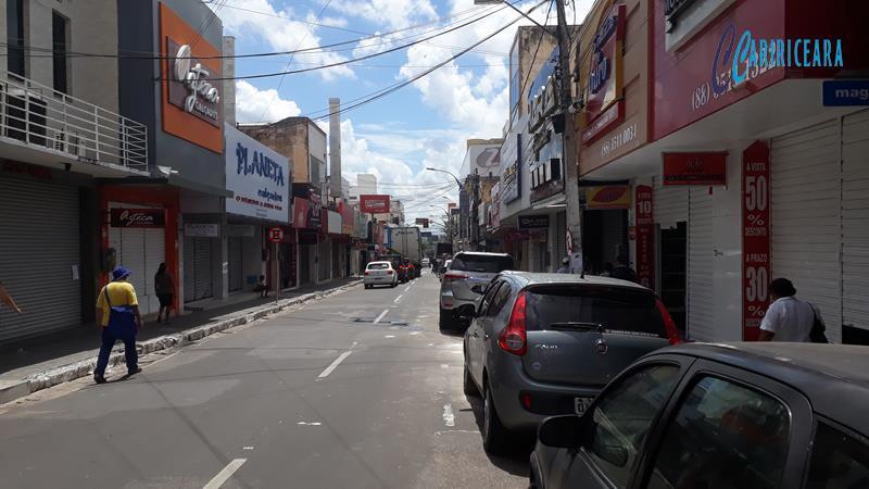 Rua São Pedro em Juazeiro do Norte_período de quarentena Foto Jota Lopes_Agêncisa Caririceara.com