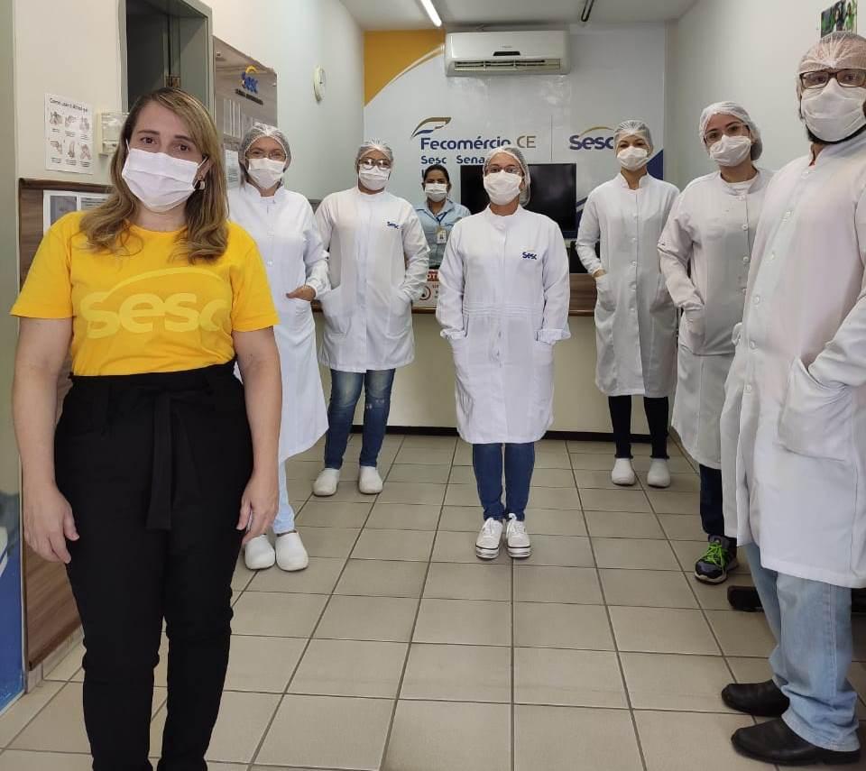 Clínica odontológica SESC Crato realiza atendimento de urgência e emergência durante período da pandemia