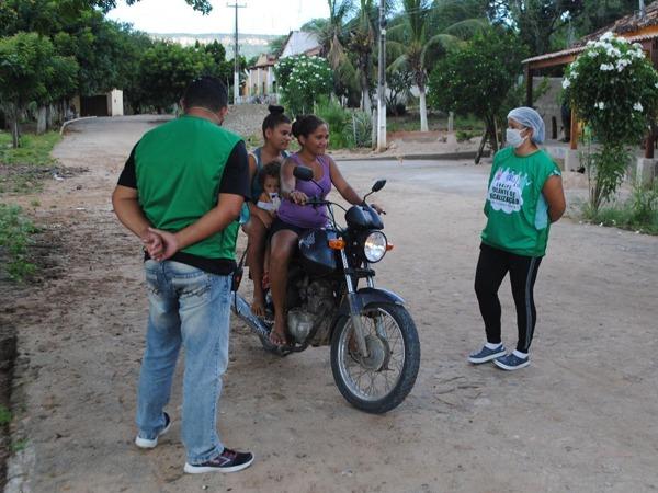 Em Santana do Cariri, Prefeitura fiscaliza cumprimento de decreto para evitar o contágio pelo novo coronavírus no município