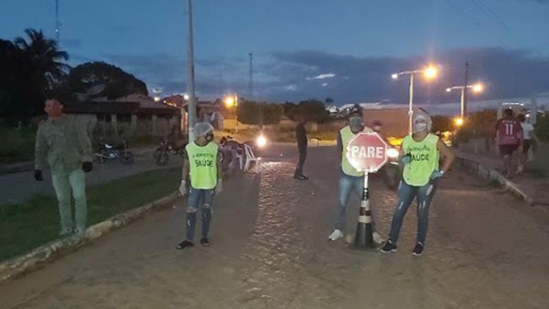 Fechamento total em Altaneira FOTO DIVULGAÇÃO