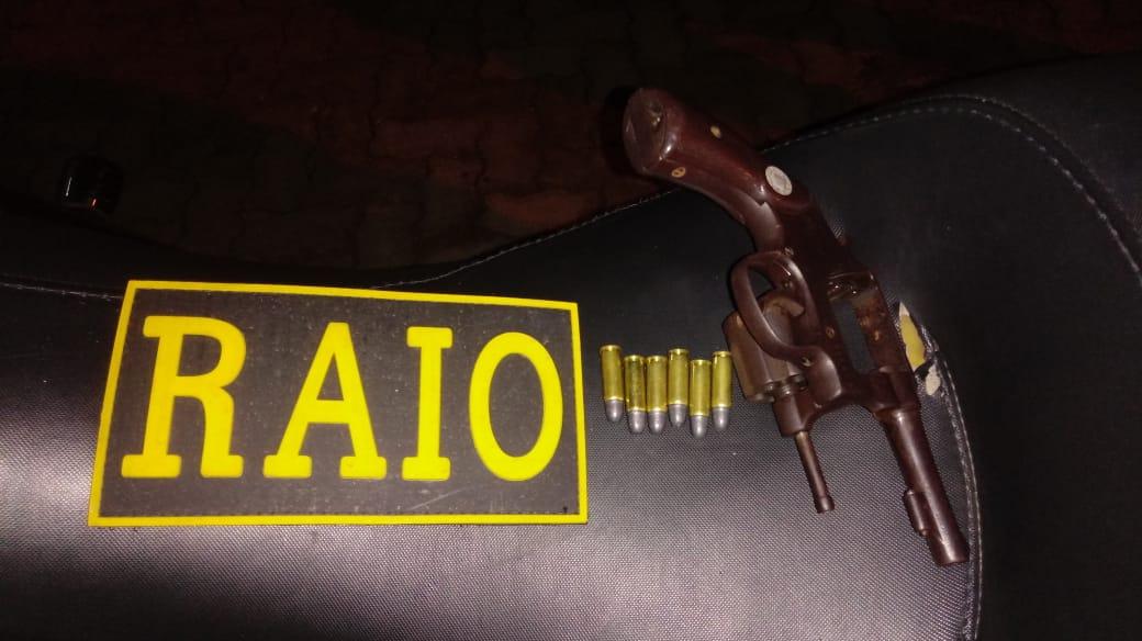 Homem é preso por posse irregular de arma de fogo em Crato FOTO REDES SOCIAIS