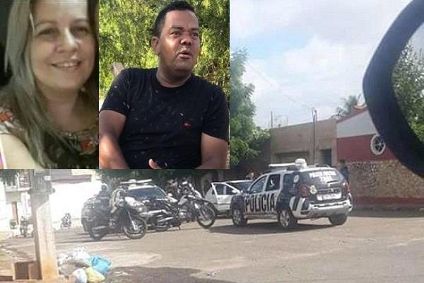 Mulher é morta a tiros pelo ex-companheiro em Juazeiro Norte FOTO REDES SOCIAIS