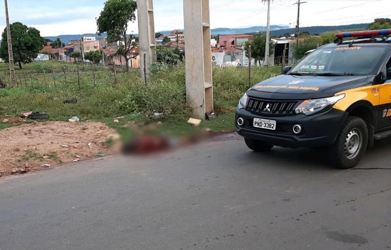 Padeiro é encontrado morto a golpes de faca e sinais de espancamento em Juazeiro FOTO REDES SOCIAIS