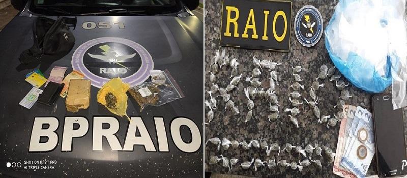Raio aprende cinco pessoas em Crato suspeitas de envolvimento com tráfico ilícito de drogas_ FOTO REDES SOCIAIS