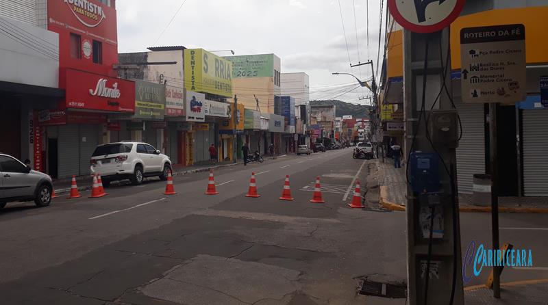 Rua São Pedro, JN 30.05.2020 FOTO JOTA LOPES_AGÊNCIA CARIRICEARA.COM