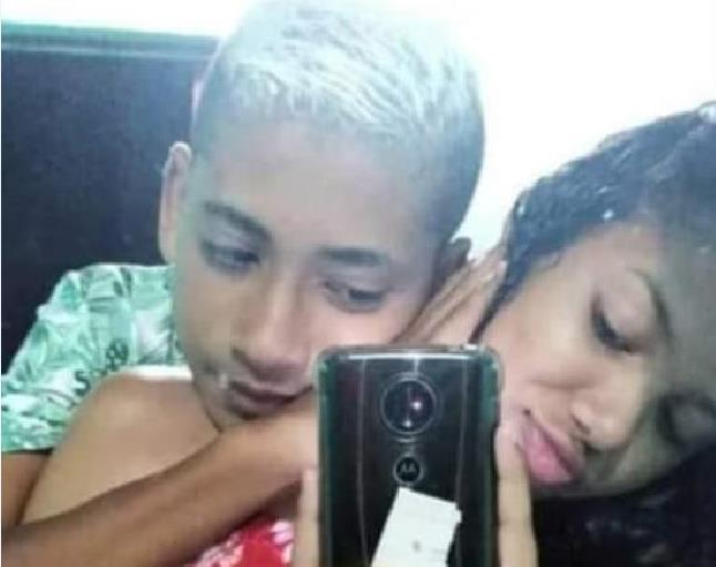 Casal de adolescentes morre após colidir motocicleta contra caminhão na Avenida JPB de Menezes em Crato FOTO REDES SOCIAIS