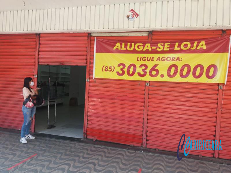 Fechamento de empresas no Crato dispara com a chegada do coronavírus FOTO ED ALENCAR_ AGÊNCIA CARIRICEAEA.COM