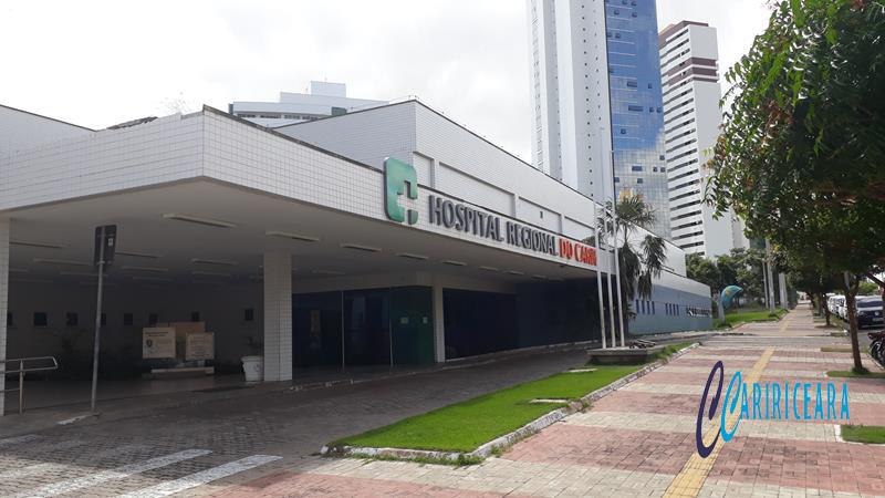 HOSPITAL REGIONAL DO CARIRI (HRC). FOTO: JOTA LOPES/ ARQUIVO/AGÊNCIA CARIRICEARA.COM