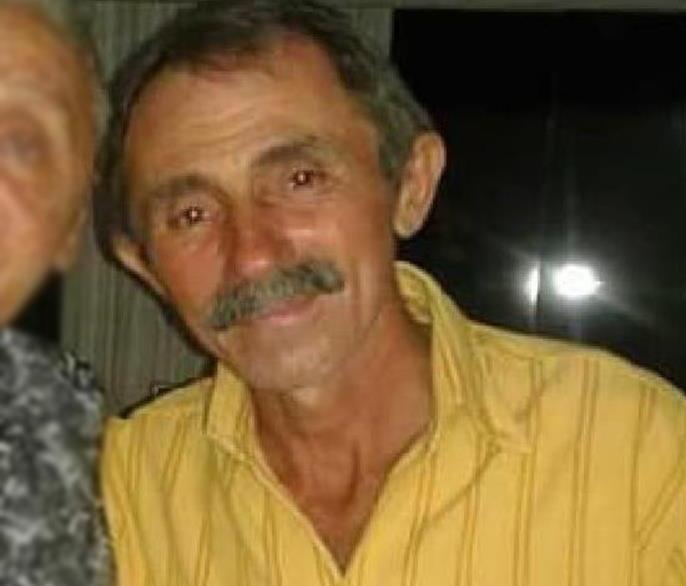 """Manoel de Andrade Silva, o """"Manel de Colinha"""" de 59 anos moirto a bala em Campos Sales 27.06.2020"""