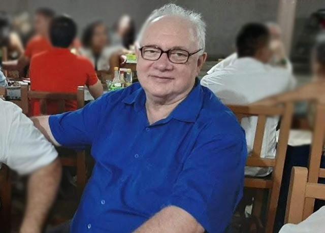 Morre de Covid-19, secretário de Finanças de Campos Sales José Carlos da Ponte Guimarães FOTO REDES SOCIAIS