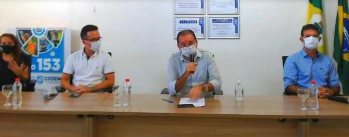 Prefeito de Crato anuncia lockdown no município
