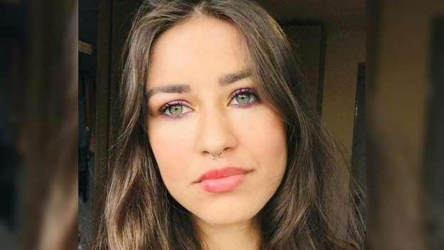 modelo Kallinny Trevisan Maia, Foto reprodução Facebook