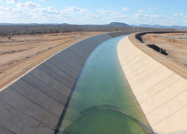 Águas da Transposição do rio São Francisco chegam ao Ceará a partir do final de agosto FOTO DIVULGAÇÃO