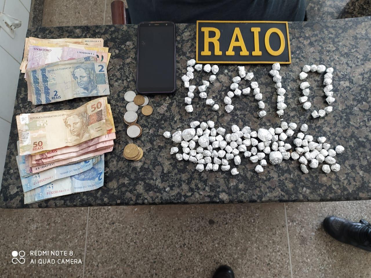 Homem é preso por tráfico de drogas após ser flagrado com 161 papelotes de maconha em Crato FOTO REDES SOCIAIS