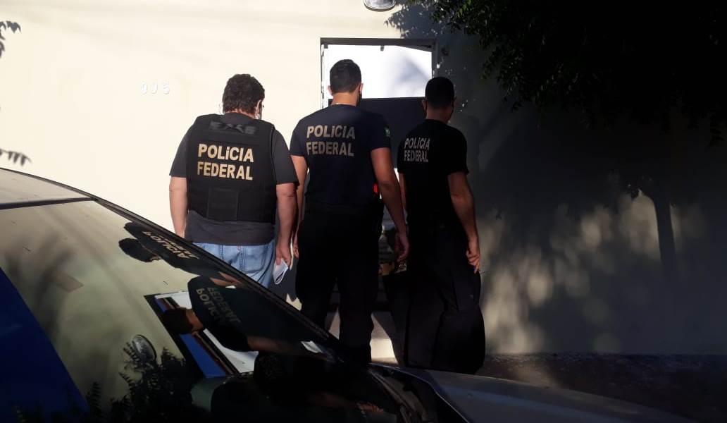 PF, com apoio da CGU, deflagra operações que investigam esquema que evolve cerca de R$ 17,9 milhões de recursos da educação em Juazeiro do Norte FOTO POLICIA FEDERAL