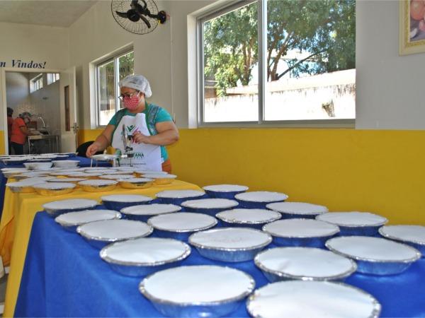 Programa Alimentação Pronta atende famílias em vulnerabilidade - Foto Júnior Sultério.