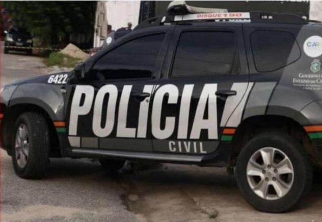 Viatura da Polícia Civil