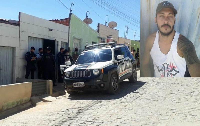 Cadeirante com passagem policial por tráfico de drogas é morto dentro de casa em Nova Olinda FOTO Edson Rota