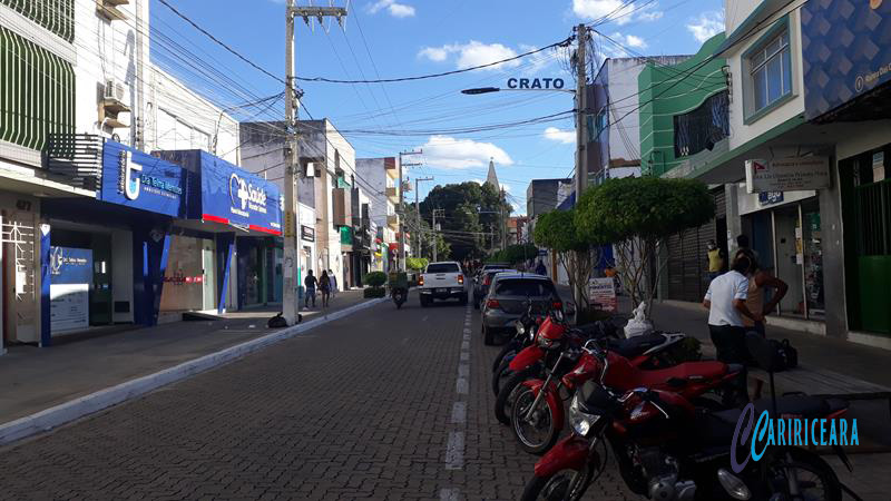 Rua Dr. Miguel Limaverde em Crato. Foto Jota Lopes_Agência C aririceara.com