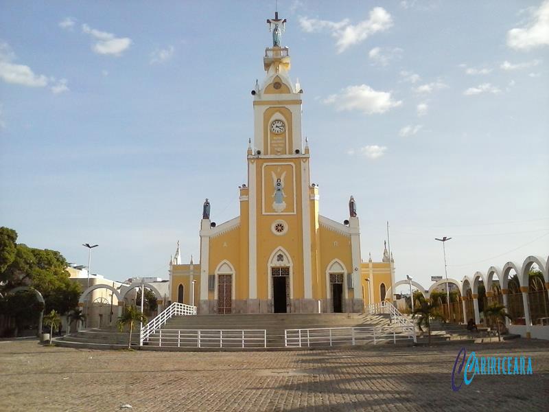 Basílica de Nossa Senhora das Dores em Juazeiro do Norte. Foto Jota Lopes_Agência Caririceara.com