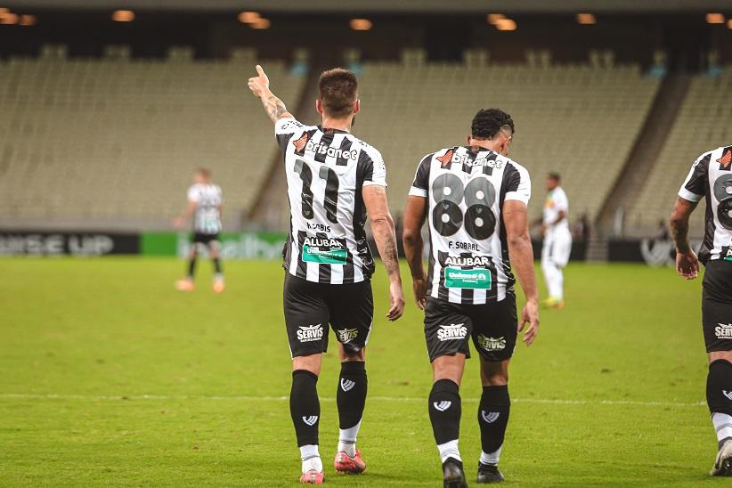 Ceará é o segundo time da Série A com mais gols na temporada FOTOFelipe SantosCearaSC.com