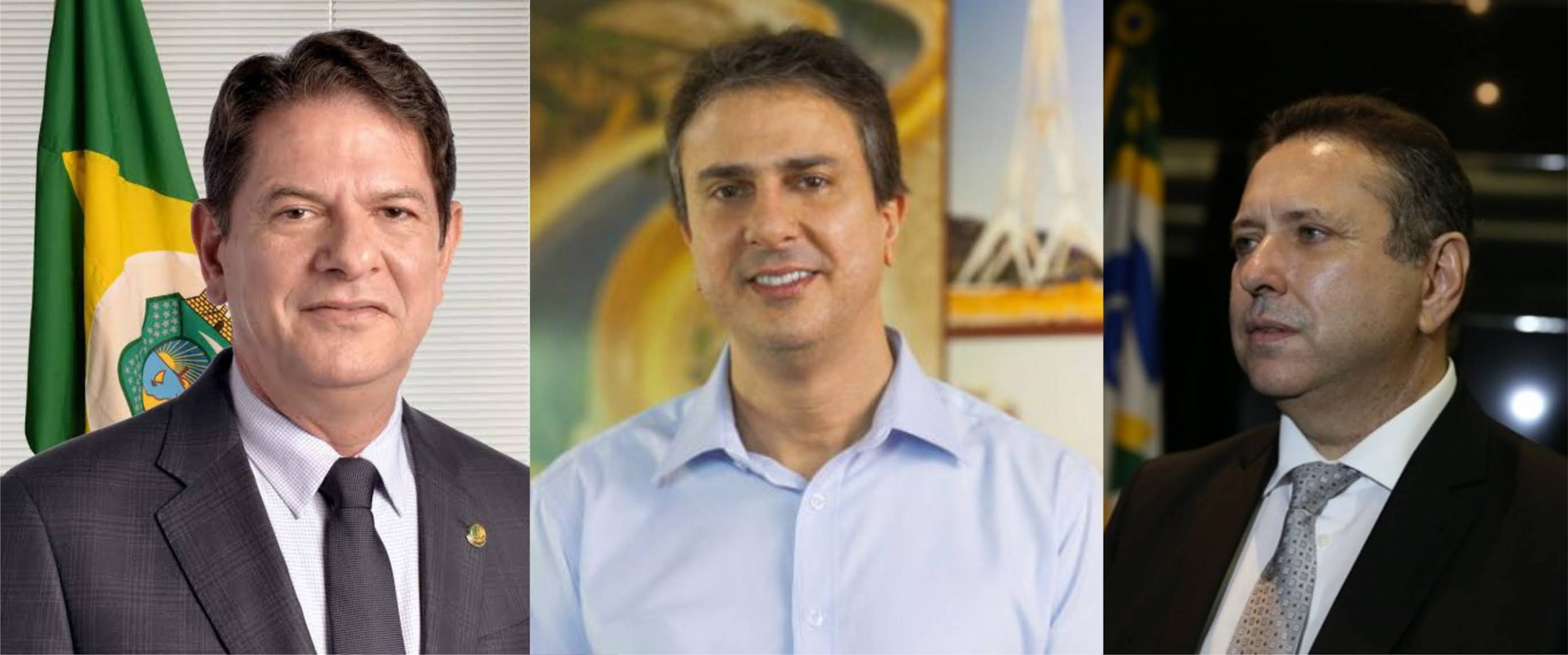 Cid Gomes, Camilo e Domingos Filho