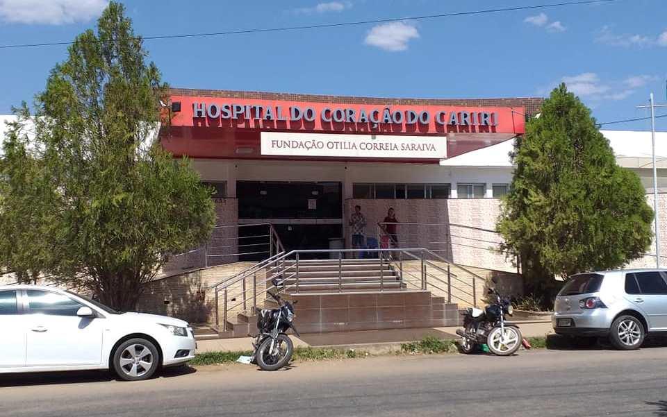 Hospital do Coração, em Barbalha FOTO REDES SOCIAIS