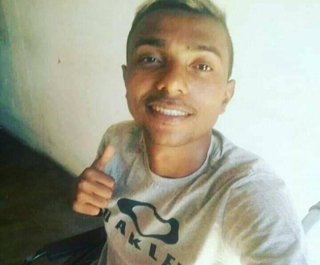 José Wanderson Barbosa , 23 anos morto a tiros em Juazeiro do Norte 12.09.2020 FOTO REDES SOCIAIS (1)
