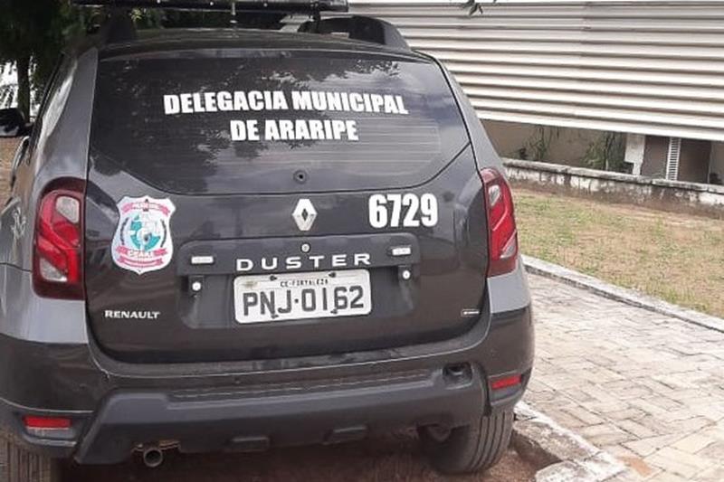 Viatura da Polícia Civil de Araripe