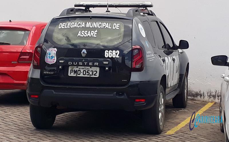 Viatura da Polícia Civil de Assaré. Foto: Jota Lopes/Agência Caririceara.com