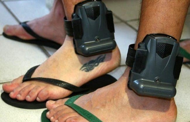 presos tornozeleira Foto Divulgaçao