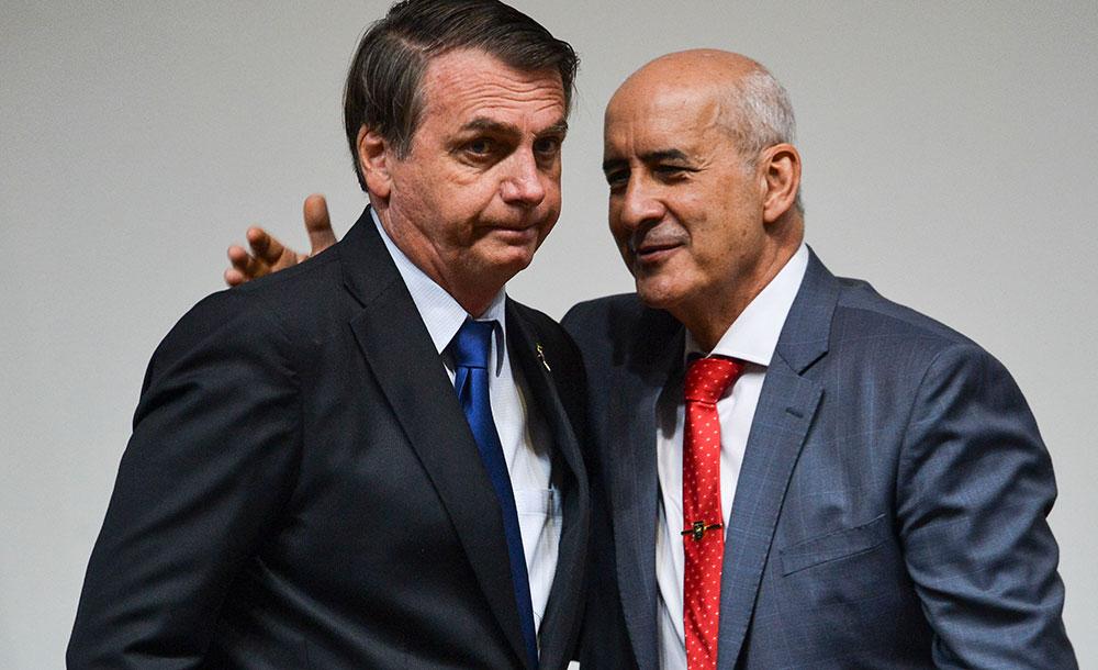 Bolsonaro e Ramos Foto Marcelo Camargo_Agência Brasil