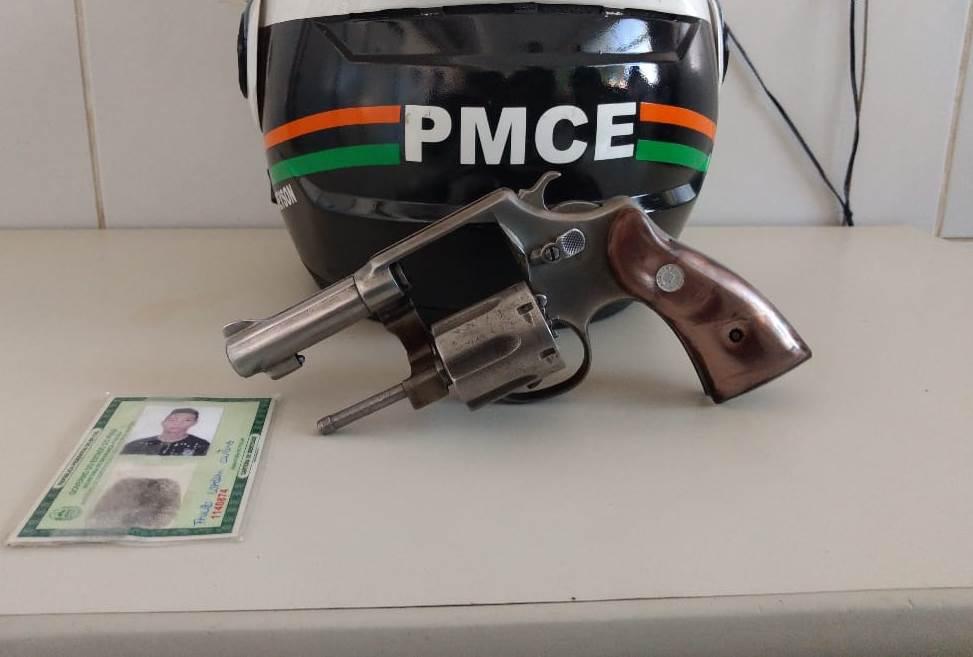 Menor de 16 anos é apreendido pela PM com arma de fogo em Juazeiro do Norte