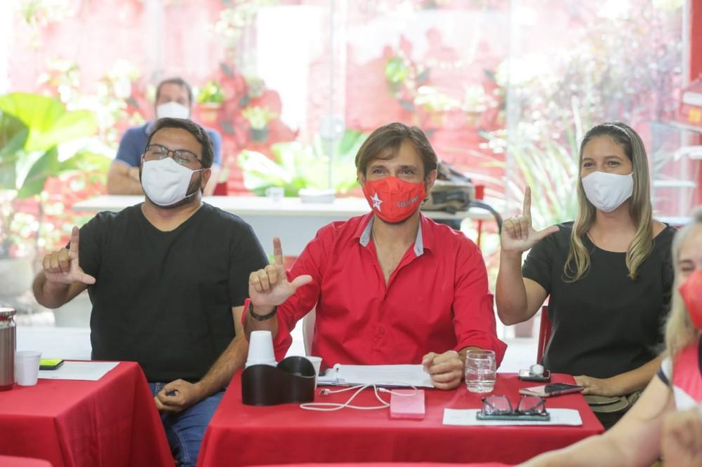 PT declara apoio ao candidato do PDT em Fortaleza no segundo turno — Foto Camila Lima SVM