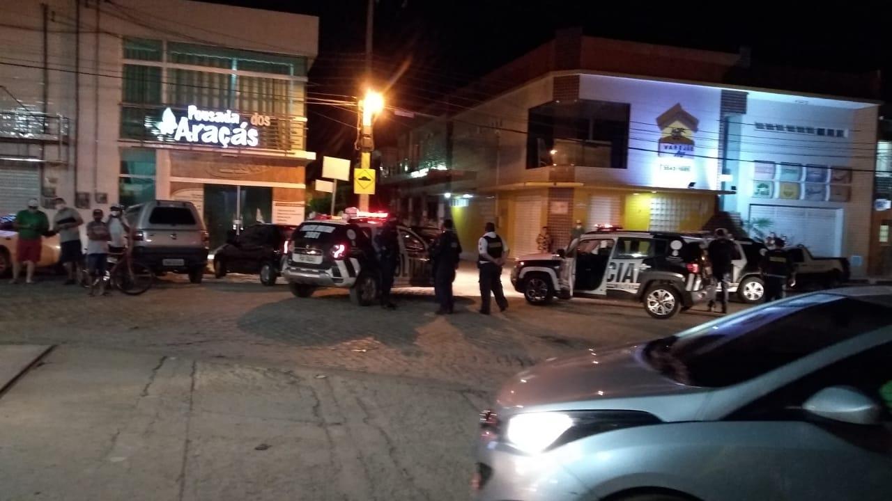 Polícia Militar realiza operação visando coibir aglomerações, carreatas e poluição sonora em Aurora (1)