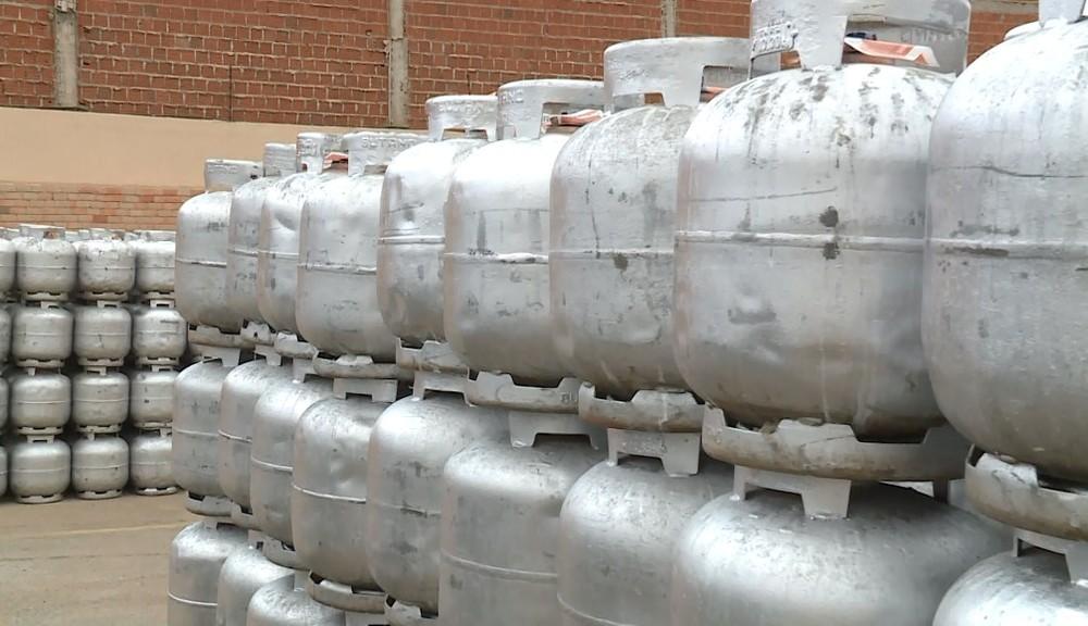 Botijão de gás — Foto- Reprodução- TV Grande Rio