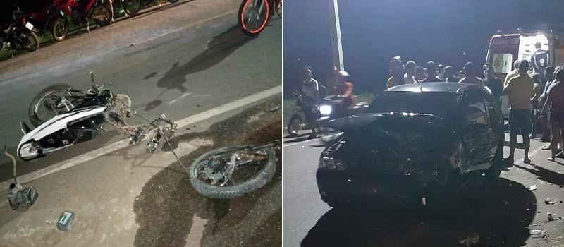 Colisão entre Pálio e Moto mata homem de 29 anos em Juazeiro do Norte