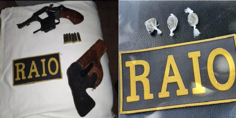 Polícia do Crato efetua prisões por porte de drogas e posse ilegal de arma de fogo