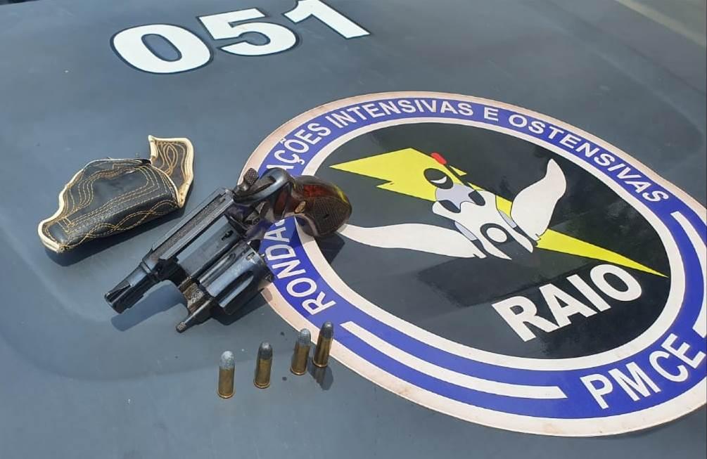 Comerciante é conduzido a 19ª DRPC do Crato suspeito de infração ao Estatuto do Desarmamento