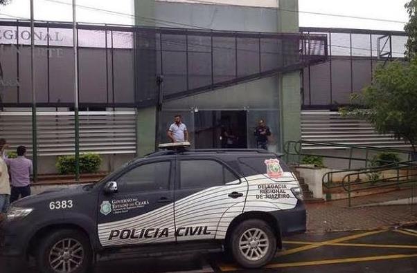 Delegacia da Policia Cvil de Juazeiro do Norte- viatura FOTO DIVULGAÇÃO