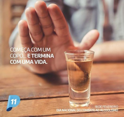 Dia de Combate ao Alcoolismo FOTO DIVULGAÇÃO
