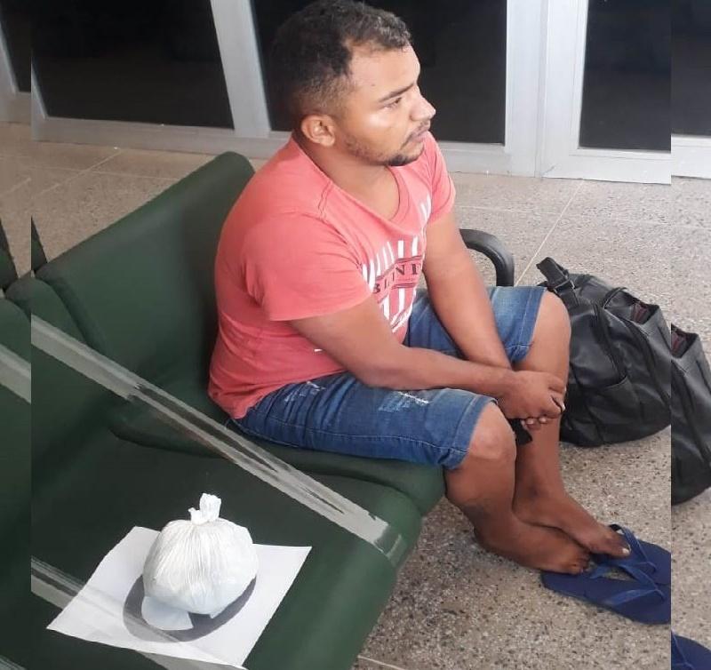Isaias Alves da Costa, de 26 anos PRESO AM ARARIPE 21.FEV-2021 FOTO REDES SOCIAIS